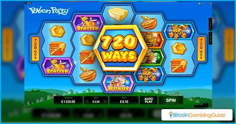 Pollen Party slot from Microgaming