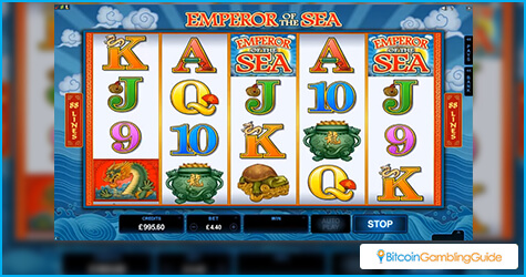 Emperor of the Sea slot from Microgaming