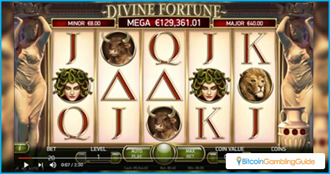 NetEnt's new Divine Fortune Slot