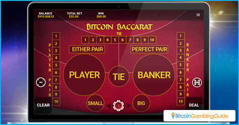 OneTouch Baccarat for Desktop
