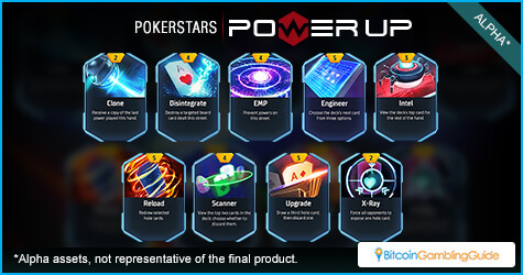 Power cards in PokerStars Power Up