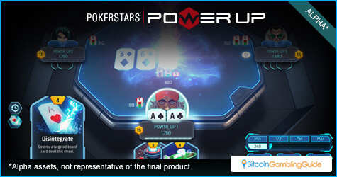 Play the ultimate game of skill in PokerStars Power Up