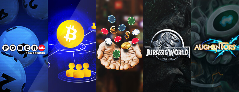 Roundup: Powerball, Augmentors & Jurassic World