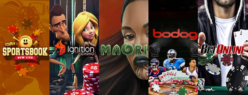 Roundup:  Bodog, Ignition Casino & mBit Sports