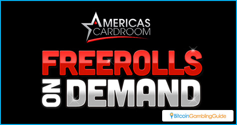Americas Cardroom Freerolls on Demand