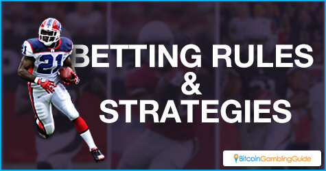 American football betting rules and strategies