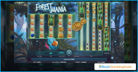 Forest Mania slot by iSoftBet