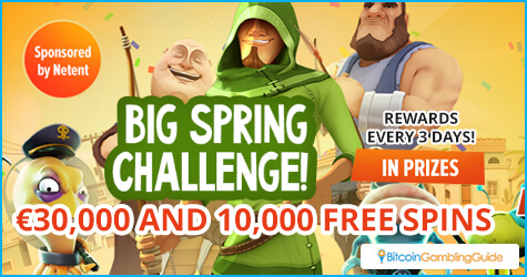 Big Spring Challenge at Playamo Casino