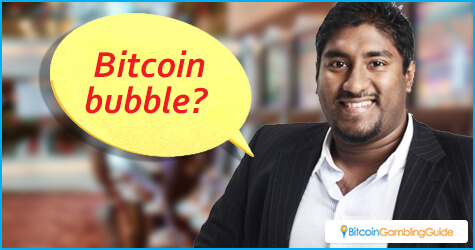 Vinny Lingham warns about Bitcoin bubble