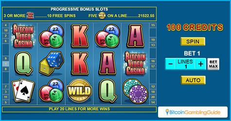 Slots at Bitcoin Video Casino
