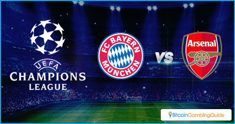 Arsenal vs Bayern Munich in Round of 16