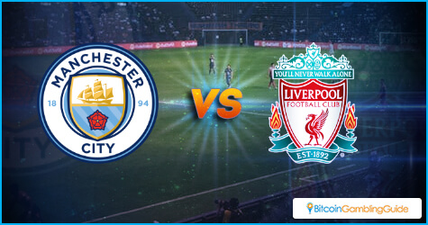 Manchester City vs Liverpool in Premier League