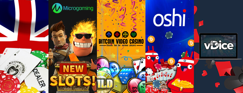 Roundup: Oshi.io, Bitcoin Video Casino & vDice.io