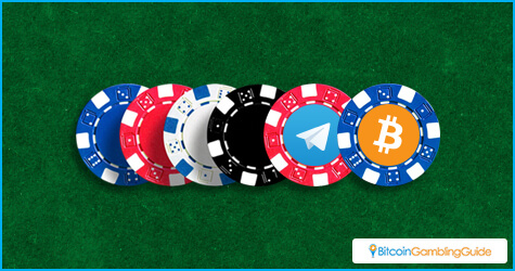 Bitcoin in Telegram casino
