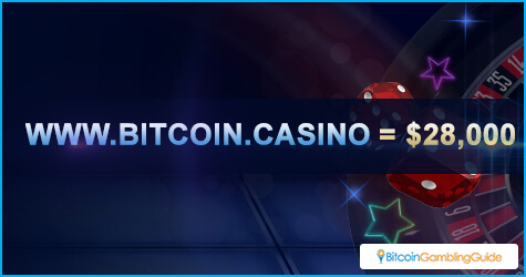 Bitcoin.casino domain was sold for $28,000
