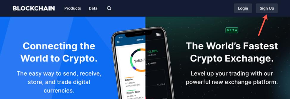 Blockchain.com Screenshot