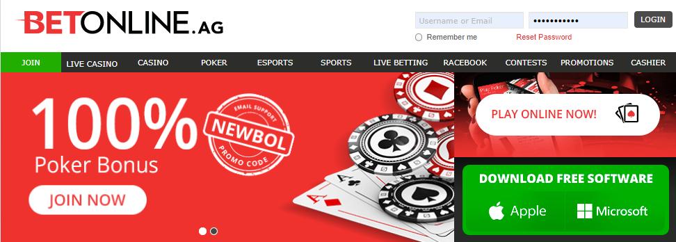 BetOnline Poker Bonus Logo