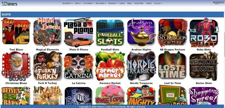 5Dimes Online Casino