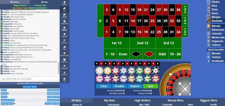 Bitvest Roulette